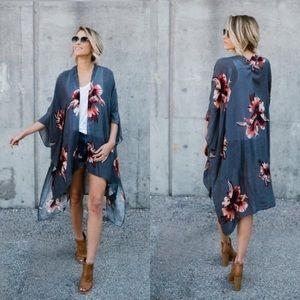 Accessories - 🌹1 left. Gray Kimono